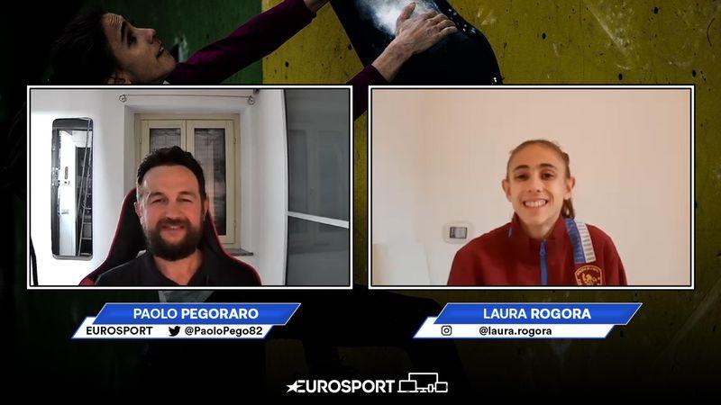Laura Rogora in esclusiva: arrampicata alle Olimpiadi, 1ª volta