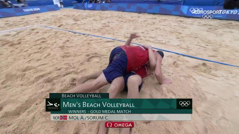 Jocurile Olimpice: Norvegia a cucerit medalia de aur în finala masculină de volei pe plajă