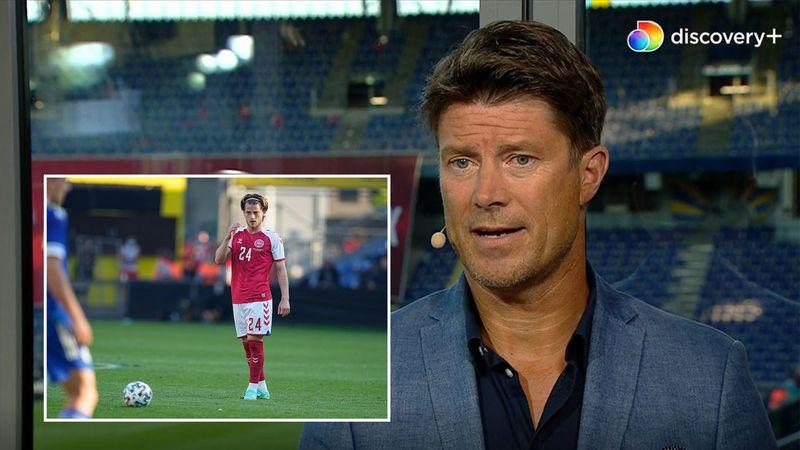 """Mathias Jensen overraskede mod Bosnien: """"Han lavede næsten ingen fejl"""""""