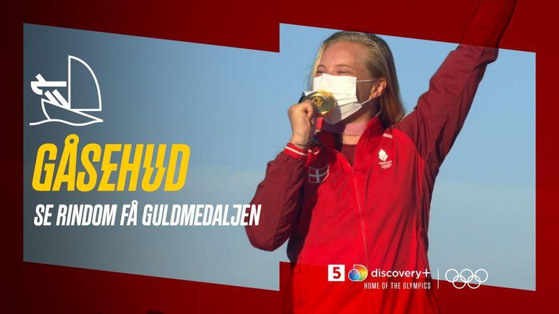 Gåsehud: Se Anne-Marie Rindom få guldmedaljen