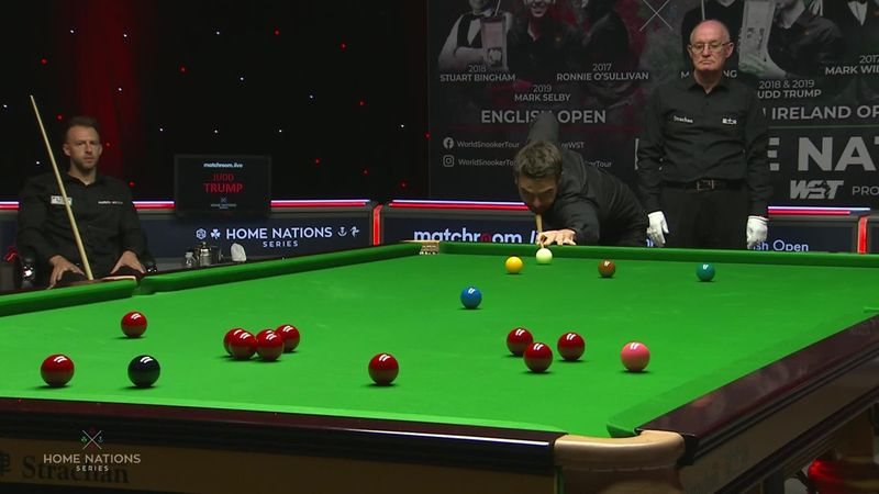 English Open: Holt, ecco un bel fluke contro Trump