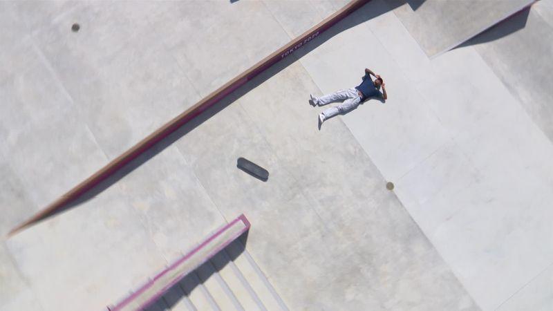 Skateboarding   La dureza del 'street': Cuatro 'skaters', al suelo