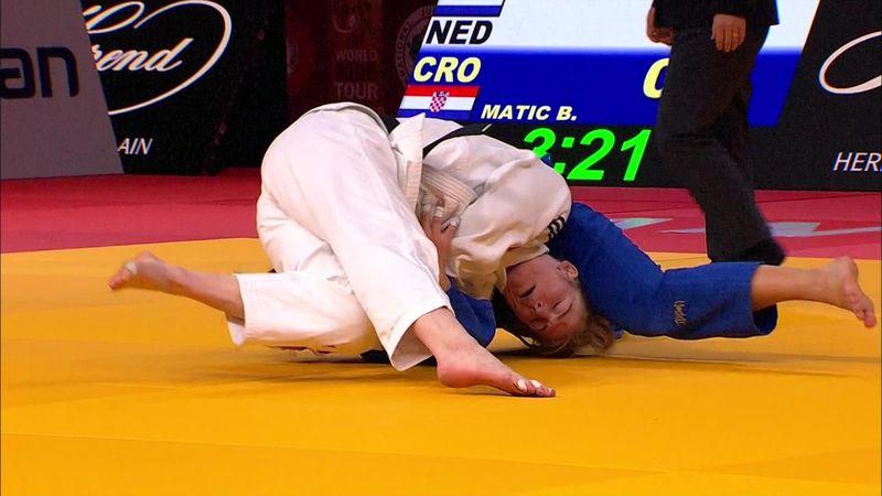 Grand Slam Antalya: Kim Polling vince nei -70kg
