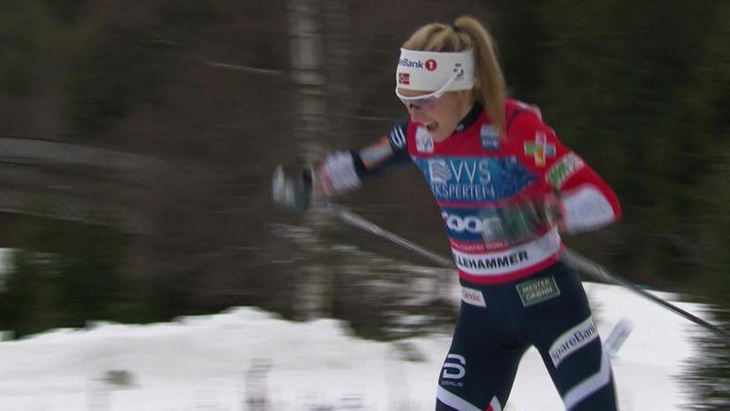Highlights | Johaug in Lillehammer voor eigen publiek naar tweede WB-zege op rij