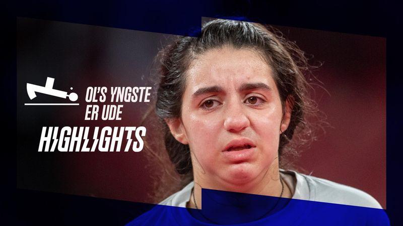 Yngste deltager færdig ved OL: 12-årig syrer sendt ud af 27 år ældre modstander