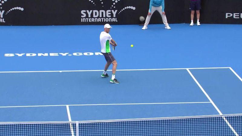 ATP Sydney highlights: Tsitsipas falls to Seppi
