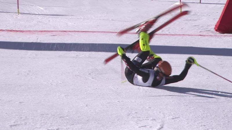 Filip Zubcic o cómo llegar a meta, caer y pegar una voltereta