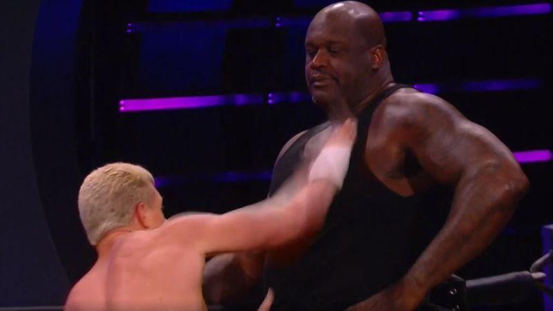 Ex-Basketball-Superstar O'Neal zurück im Ring beim Wrestling