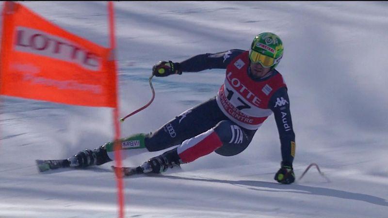 Dominik Paris bravissimo nel finale: secondo posto a Jeongseon