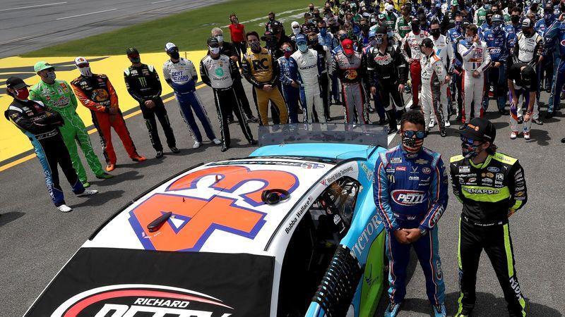 #IstandWithBubba: Große Solidarität für NASCAR-Fahrer Wallace