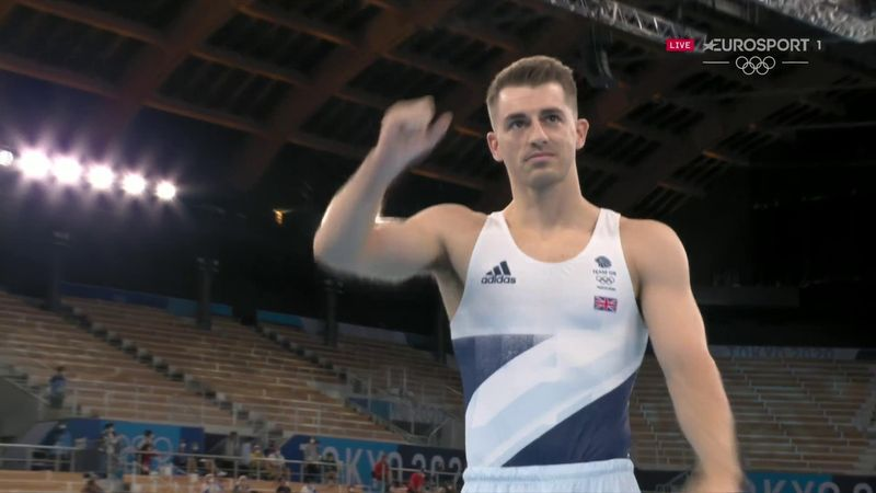 'Yes!' - Whitlock's 'beautiful' routine on pommel horse earns GB star gold