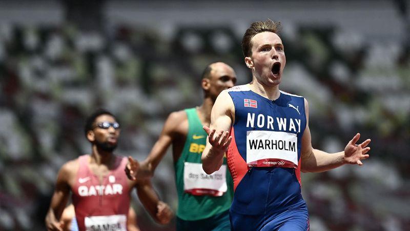 Weltrekord: Warholm rast in neue Dimension über 400 m Hürden