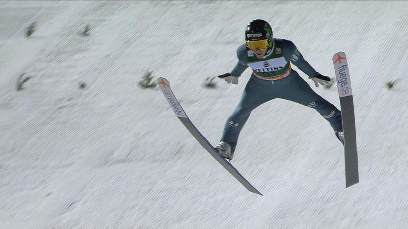 Saltos de esquí: Timi Zajc, de 18 años, gana en el trampolín gigante de Oberstdorf
