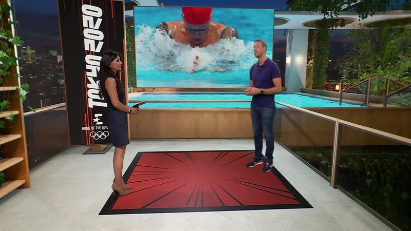 'The best surprise' - Swimming legend Bernard on Hafnaoui's gold medal
