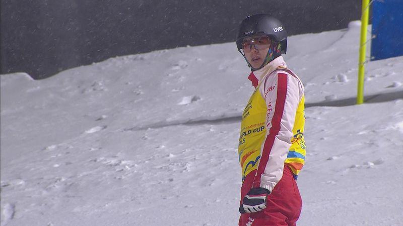 Esquí freestyle, Copa del Mundo: Doble éxito para Noé Roth en aerials