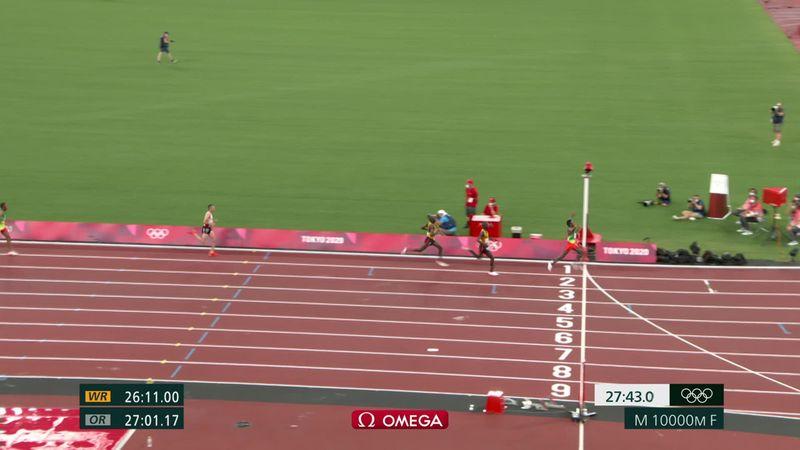 Atletismo | Vídeo resumen del 10.000 masculino: Barega, el primer oro en el Estado Olímpico