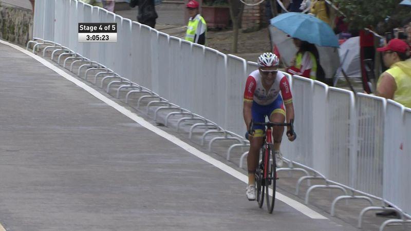 Mykhaylo Kononenko claims victory on Tour of Fuzhou stage four