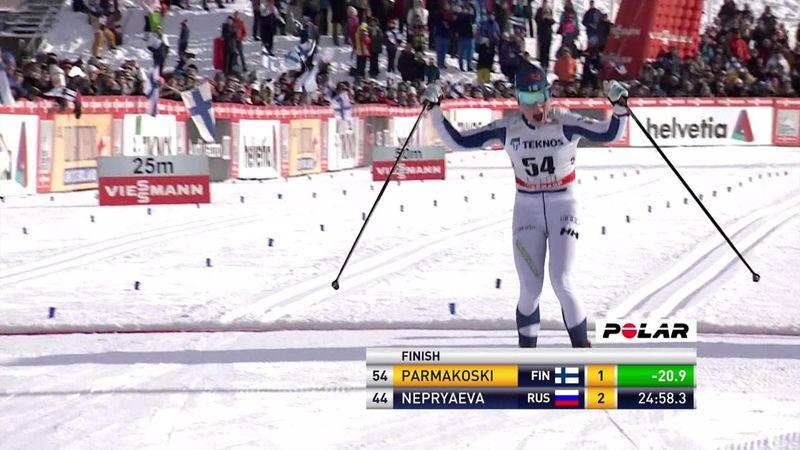 Parmakoski wins by massive margin in Lahti