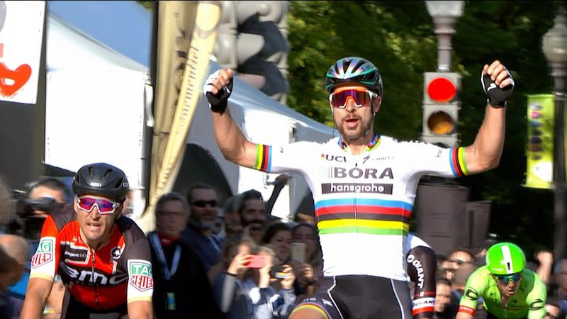 Sagan sprints to GP Quebec victory