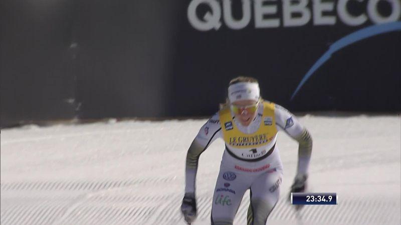 Quebec: finish achtervolging