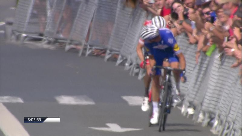 Alaphilippe outsprints Mollema to win Clasica San Sebastian