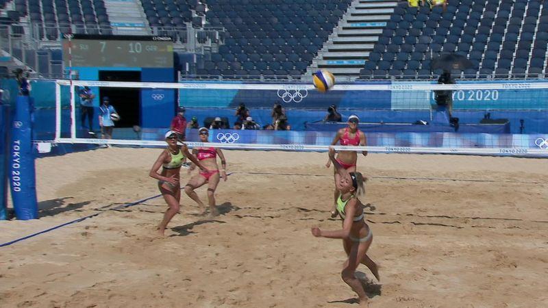 Токио-2020 - Switzerland против Germany - Пляжный волейбол – Главные события Олимпиады