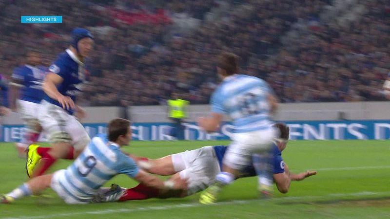 Rugby | Highlights Frankrijk - Argentinië 28-13
