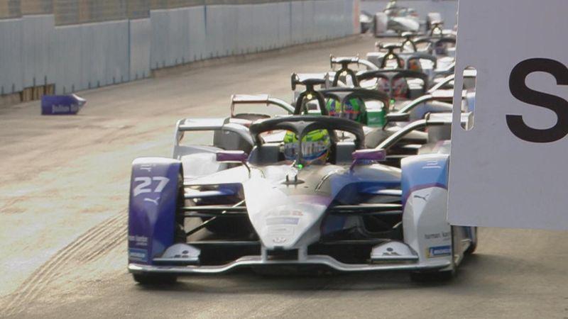 Diriyah ePrix   Hoogtepunten van de door Alexander Sims gedomineerde race