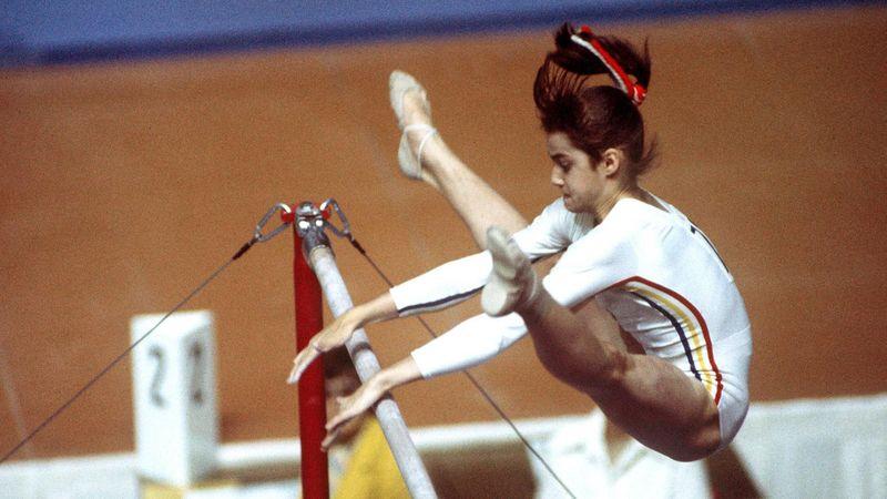 Die großen Olympia-Geschichten: Nadia Comăneci und Mythos der perfekten 10
