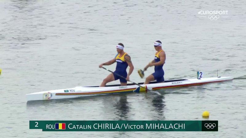 Jocurile Olimpice: Chirilă și Mihalachi, canoe dublu masculin 1000m