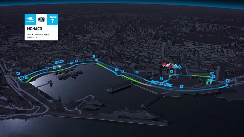 La Formula E fa tappa a Monaco: il profilo del tracciato