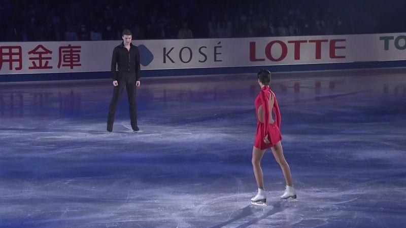 NHK Trophy: Zabiiako/Enbert mit elegantem Gala-Tanz