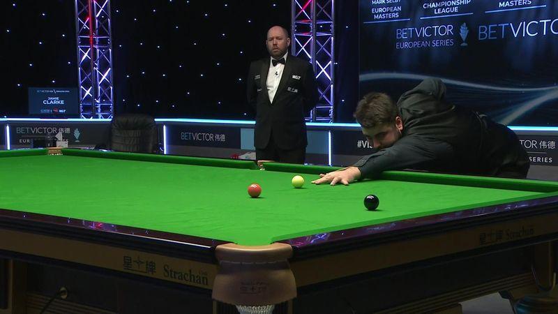 'Well played' - Clarke nails break of 134 to stun Yan