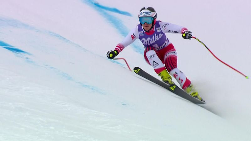 Austria's Ramona Siebenhofer claims second downhill victory in two days
