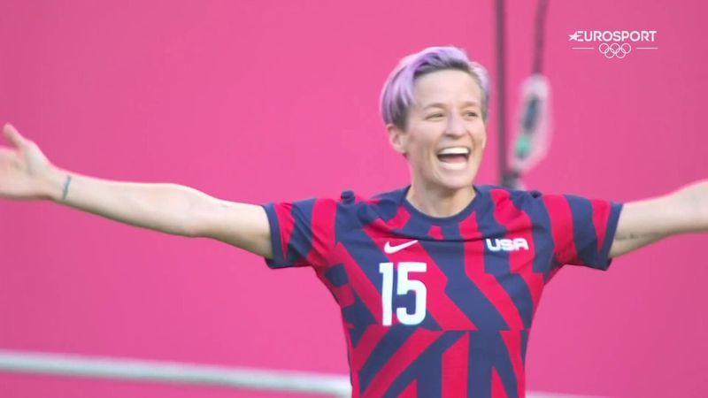 'A special, special set piece' - Rapinoe scores direct from corner kick