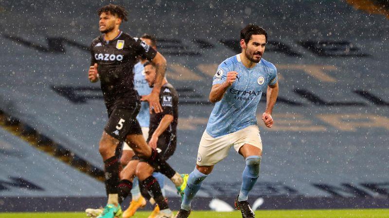 Rezumatul meciului Manchester City - Aston Villa 2-0, din Premier League