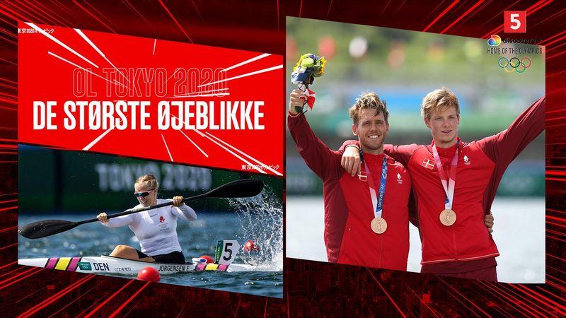 Største øjeblikke: Dansk medaljeregn i roning