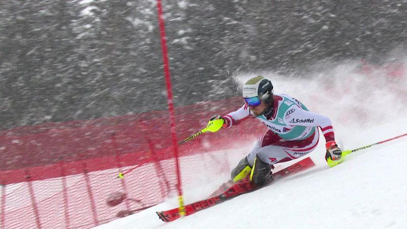 Feller in rimonta: suo l'ultimo slalom dell'anno