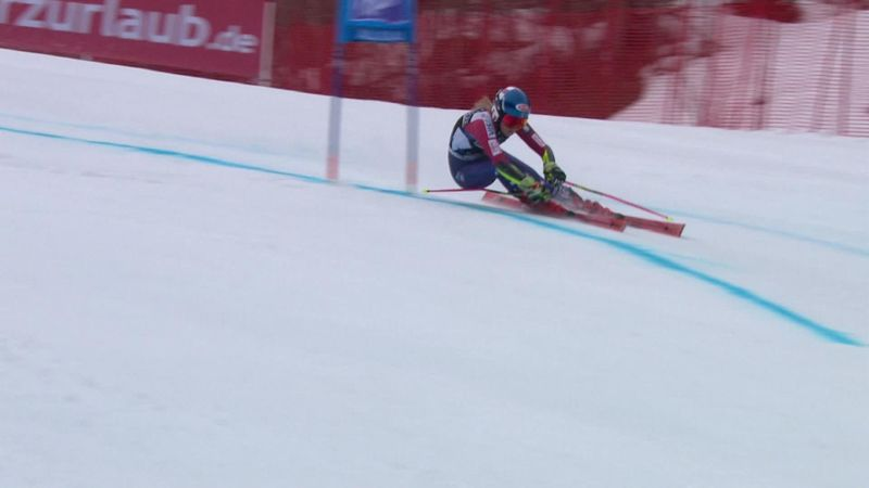 See the run which secured World Cup overall title for Shiffrin