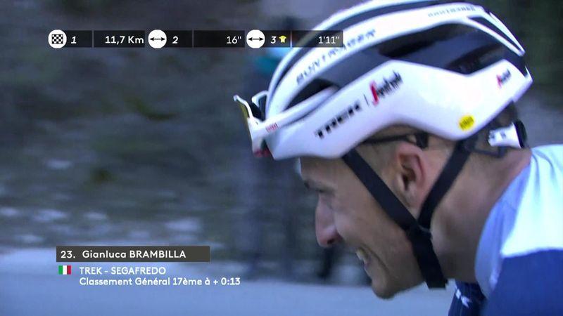 L'attacco decisivo di Brambilla: è vittoria