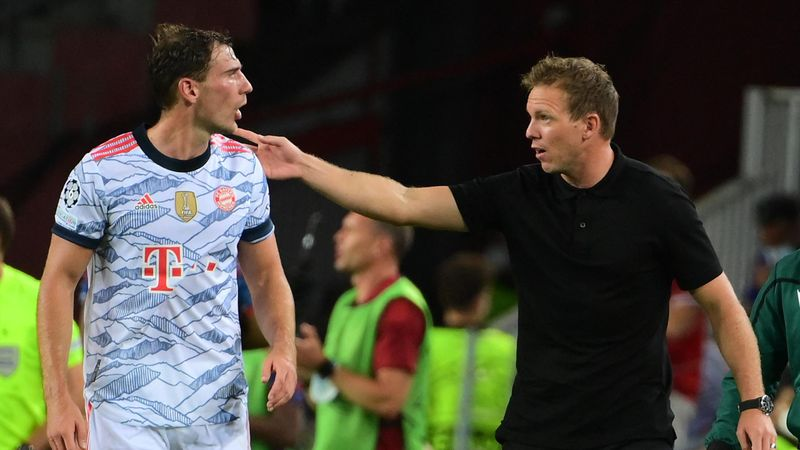 """""""Soll er sagen: Der Trainer ist blind?"""" Nagelsmann zu Goretzka"""