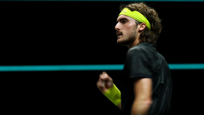 Tsitsipas beats Hurkacz to set up Khachanov showdown