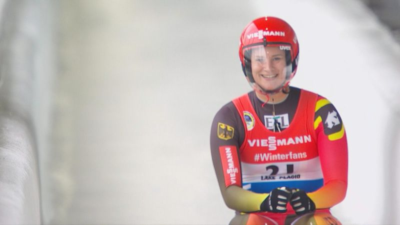 Eitberger pips Geisenberger to Lake Placid win with storming final run