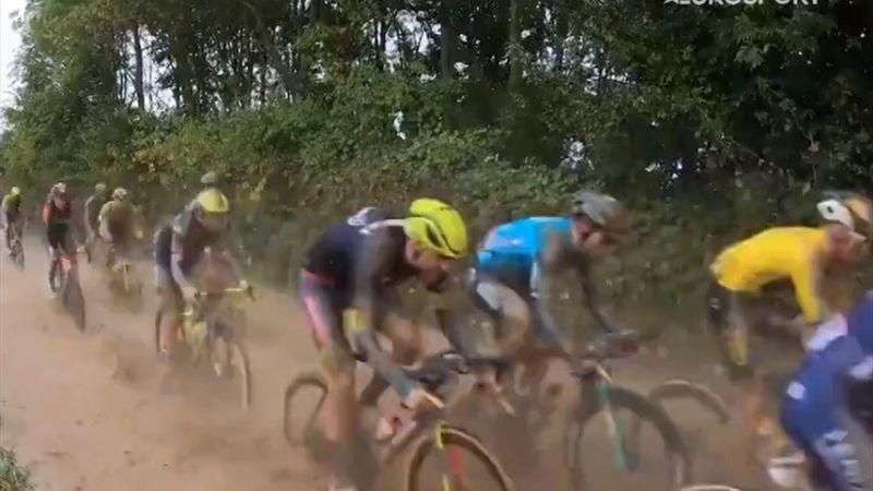 Fango, pavé e Colbrelli: la Roubaix vista dall'onbike camera