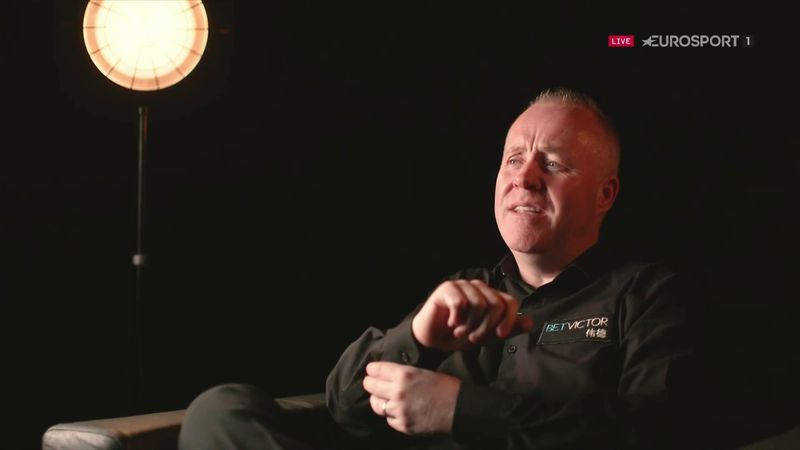 'No way! Honestly?' – Higgins stunned by career statistic during Eurosport interview