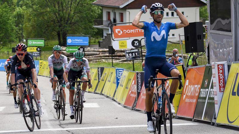 Alejandro Valverde gana dominando como en sus mejores días