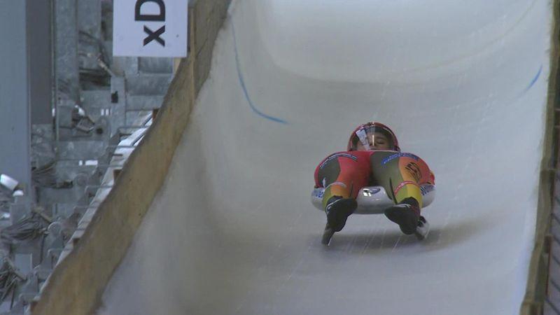 Geisenberger's winning run for European gold in Oberhof
