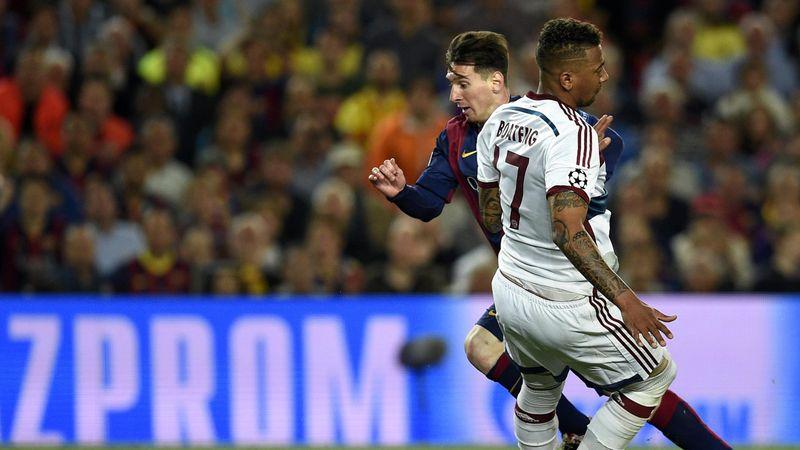 Messi-Boateng, un dribble passé à la postérité