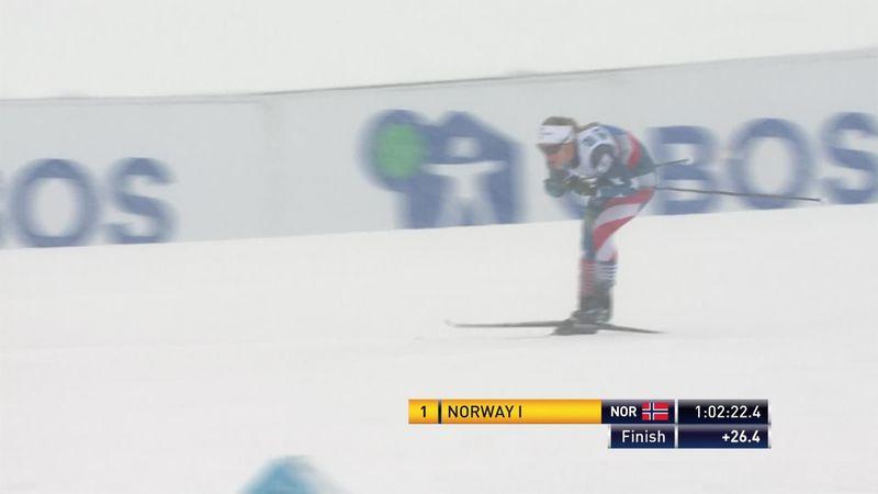 Lillehammer | Noorse vrouwen ongenaakbaar bij estafette