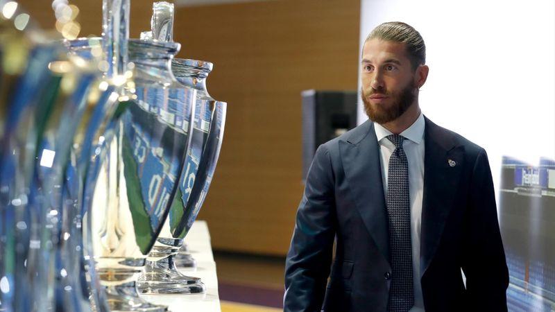 Así fue el acto de despedida de Sergio Ramos como jugador y capitán del Real Madrid